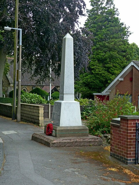 Stanley and Stanley Common war memorial