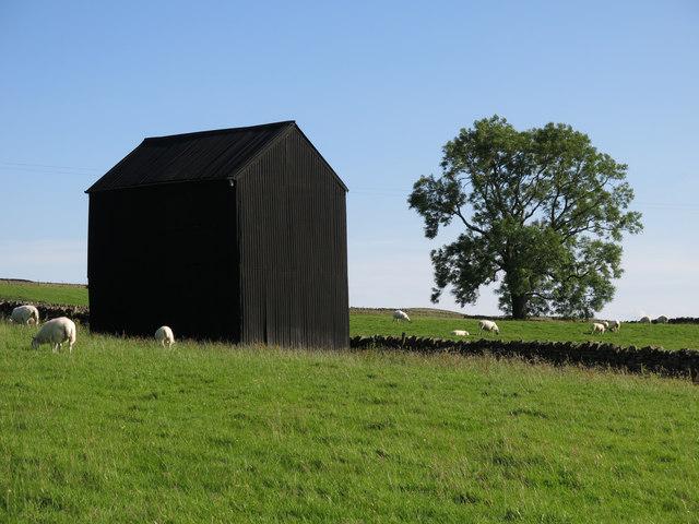 Black barn at Snaisgill