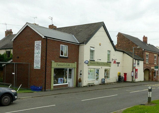 Village shop and cafe, Stanley