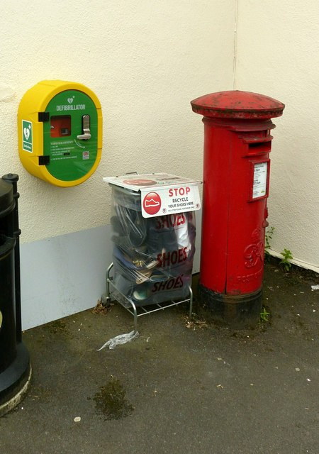 At Stanley village post office