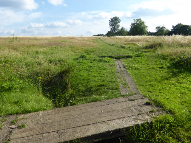 Path on East Wickham Open Space