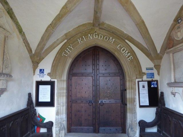 SS Peter & Paul, Wadhurst: south door