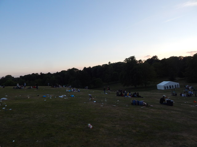 End of Christchurch Park music day 2017