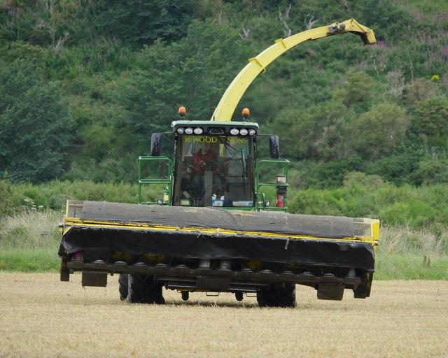 John Deere 7380 Forage Harvester