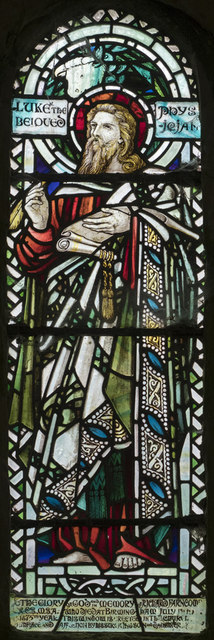 St Andrew, Bishopstone - Stained glass window