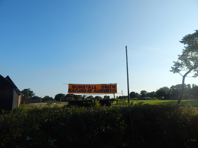 Burstall Show sign