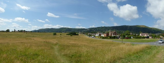 Panorama view of the Malvern Hills