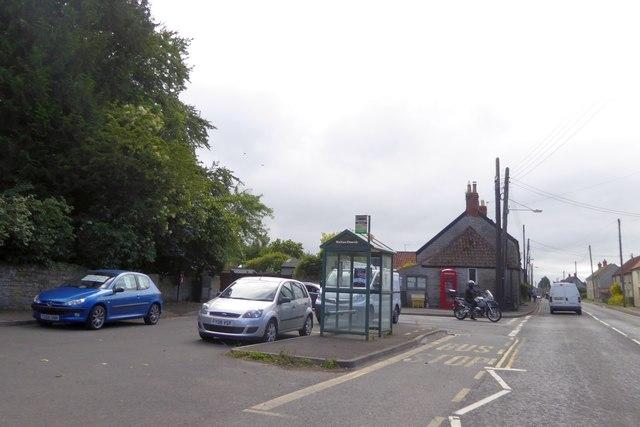 Bus shelter outside Walton Church