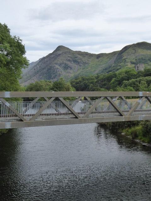 Railway bridge over Afon Y Bala