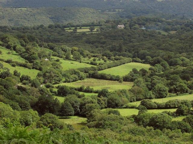 Fields northwest of Leighon