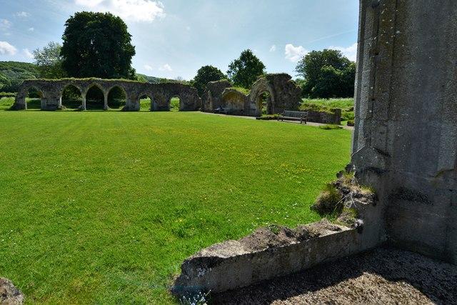 Hailes Abbey: The East Range