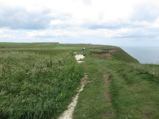 The Headland Way near Stottle Bank