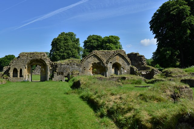 Hailes Abbey: Site of the Monks' Dining Hall (Refectory)