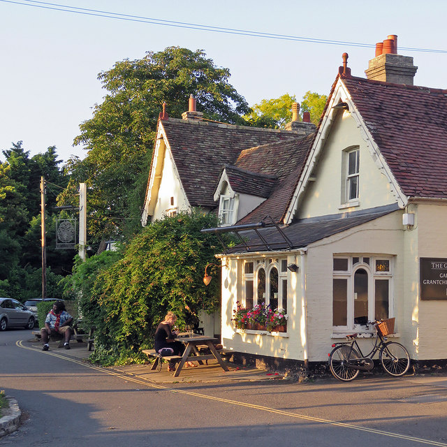 Grantchester: a drink at The Green Man