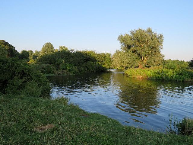 Newnham: a bend in the Cam