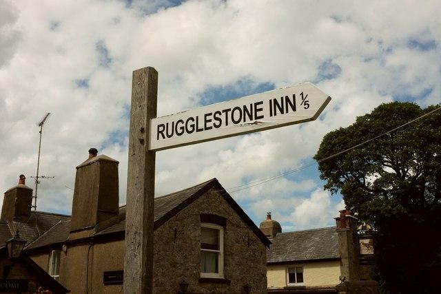 Signpost, Widecombe