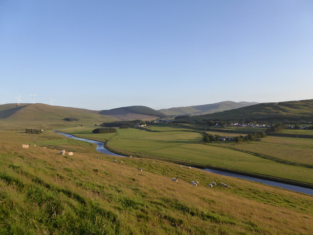 River Clyde from Corbury Hill