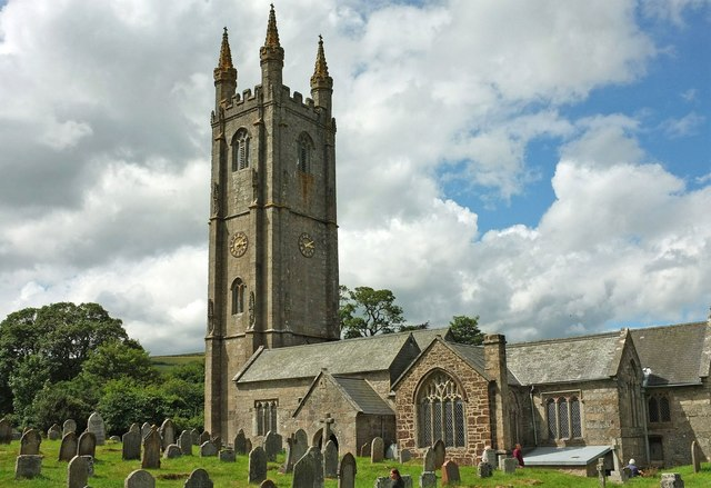 Church of St Pancras, Widecombe in The Moor