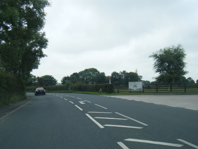 B6243 Preston Road near Alston Dairy