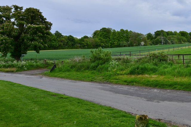 Little Barrington: The D'Arcy Dalton Way leading from the road