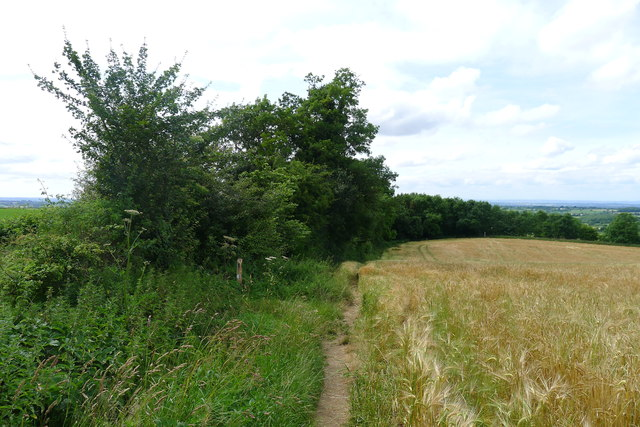 The Cotswold Way close to the M4