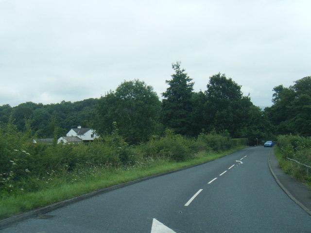 B6243 west of Lower Hodder Bridge