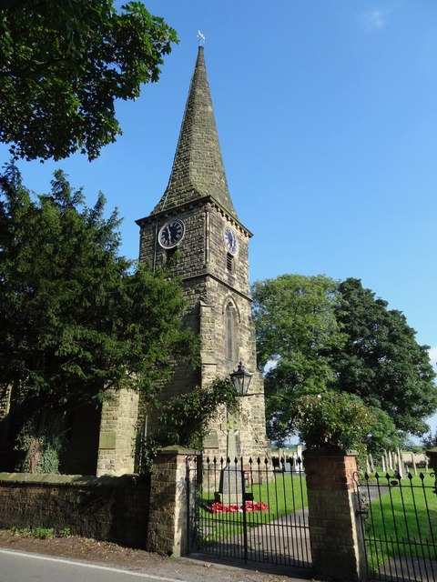 Entrance gate St Mary Church Amcotts North Lincolnshire