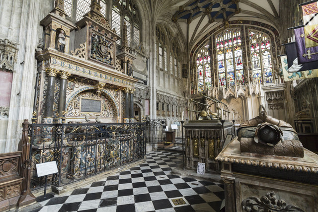 Beauchamp chapel, St Mary's church, Warwick