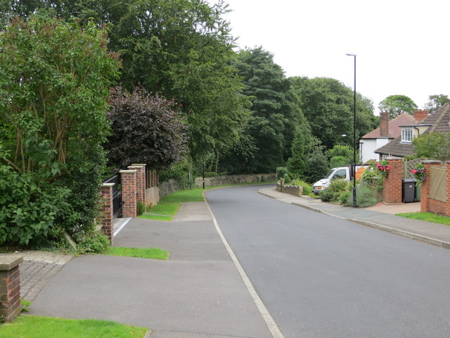 Park Drive in Horsforth