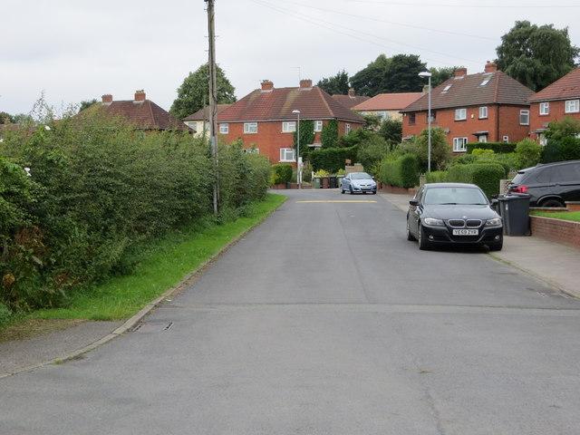 Drury Avenue in Horsforth
