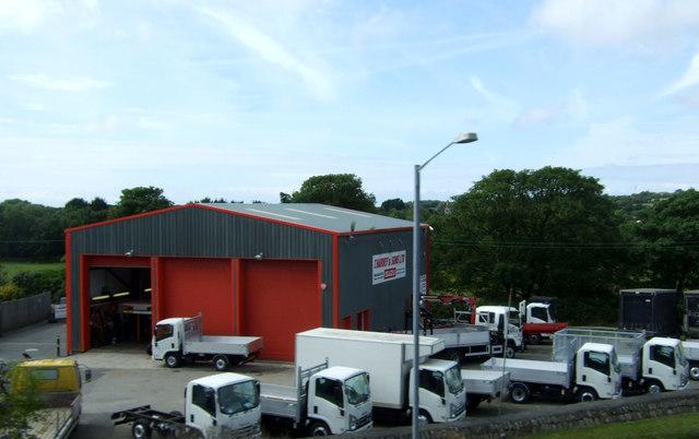 Van & Truck Centre, Scorrier