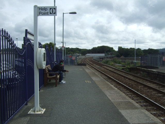 Platform 1, Hayle Railway Station