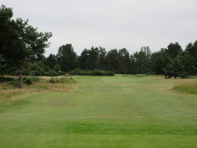 Scotscraig Golf Course, 3rd hole, Gully