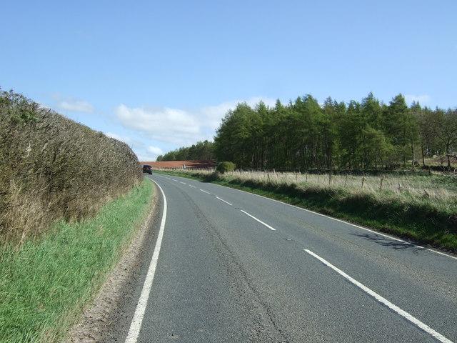 A697 towards Coldstream