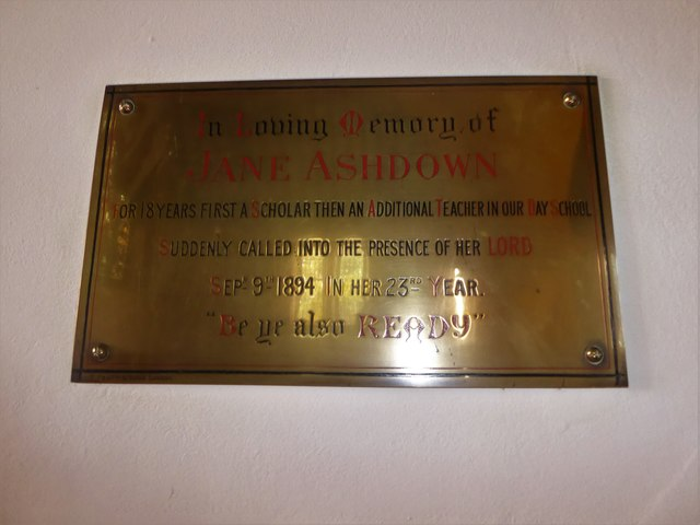 St. Peter, Stonegate: memorial (2)