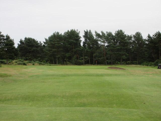 Scotscraig Golf Course, 5th hole, Whins