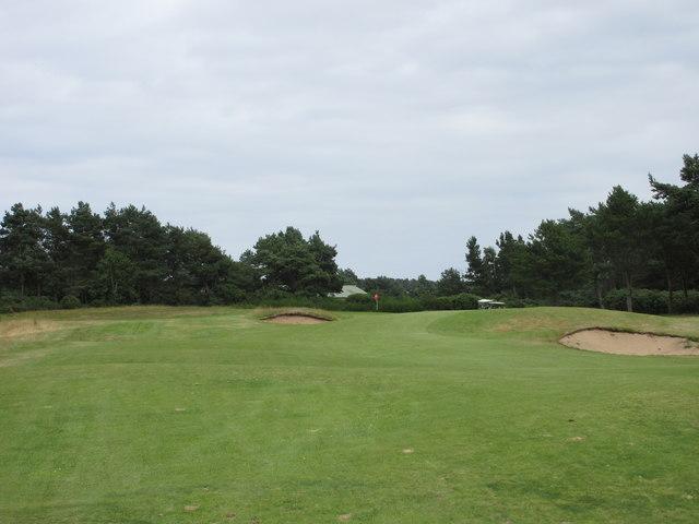 Scotscraig Golf Course, 8th hole, High