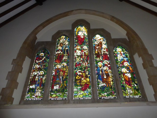 St. Peter, Stonegate:  (stained glass window II)