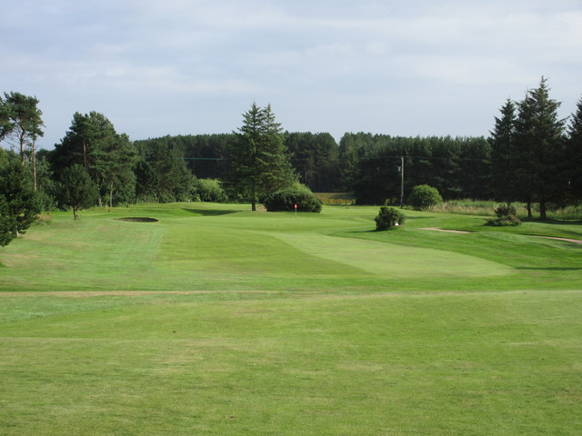 Scotscraig Golf Course, 11th hole, Shanwell