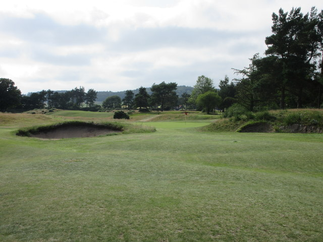 Scotscraig Golf Course, 12th hole, Rushes