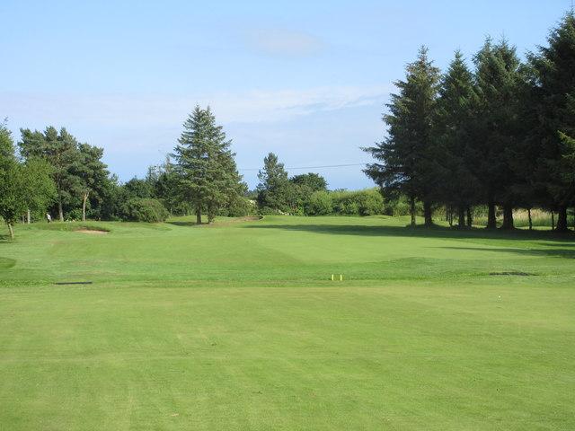 Scotscraig Golf Course, 14th hole, Garpit