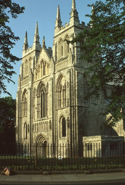 West front of Selby Abbey