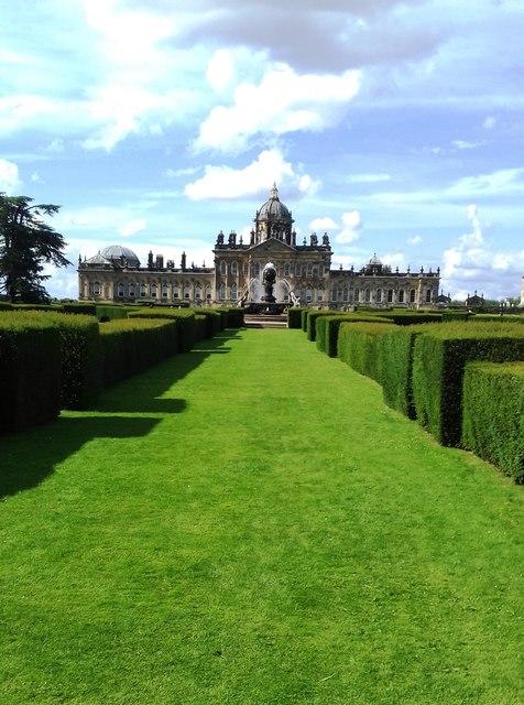 Formal Garden at Castle Howard