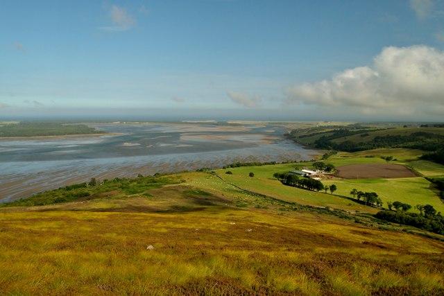 View over Cambusavie, Sutherland