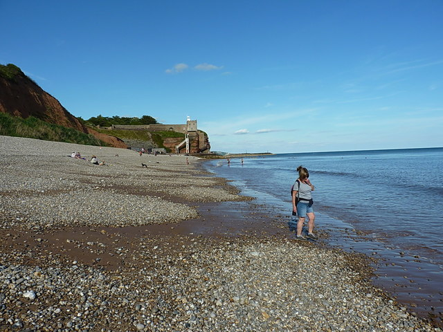 Sidmouth's West Beach