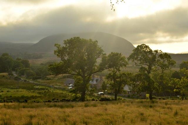 Houses at Balvraid, Sutherland