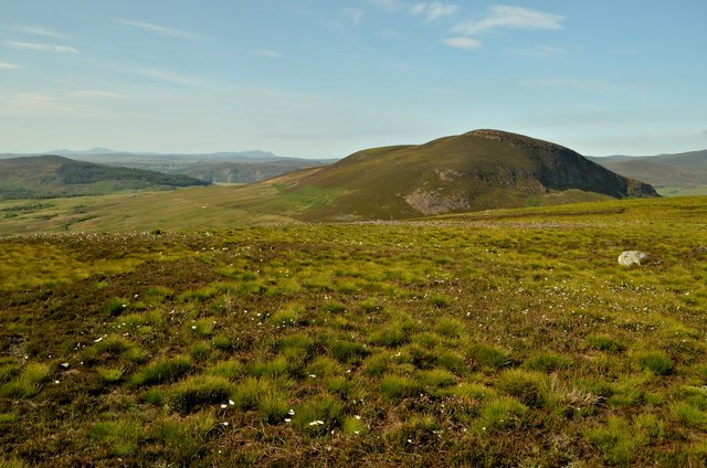Summit of Cnoc Odhar, Sutherland
