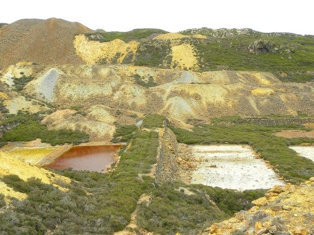 Precipitation ponds