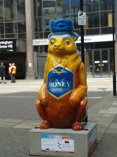 Birmingham Big Sleuth The Honey Hunter Bear
