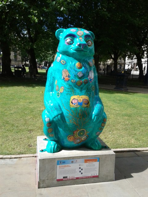 Birmingham Big Sleuth We Are Going on a Hundertwasser Bear